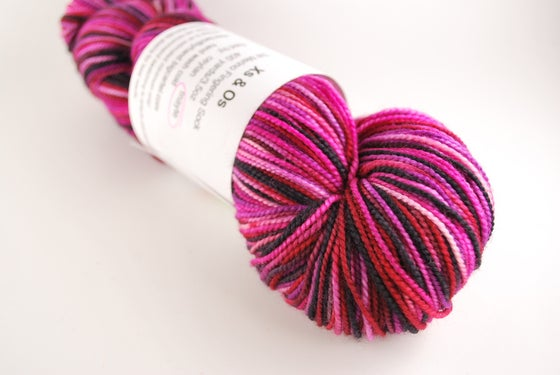 Image of Xs and Os - SW Merino Fingering