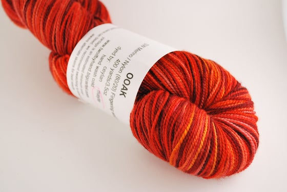 Image of OOAK Orange - SW Merino/Nylon Fingering