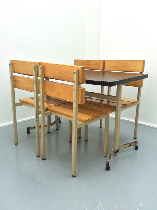 Image of French Modernist Dining Sets, 1960s