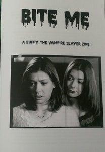 Image of Bite Me: A Buffy the Vampire Slayer Zine
