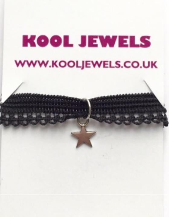 Image of Kool Jewels Mini Star charm Choker