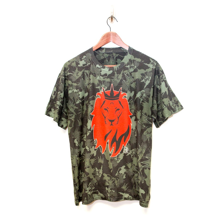 "Image of BeRoyal ""Camo Lion Head"""