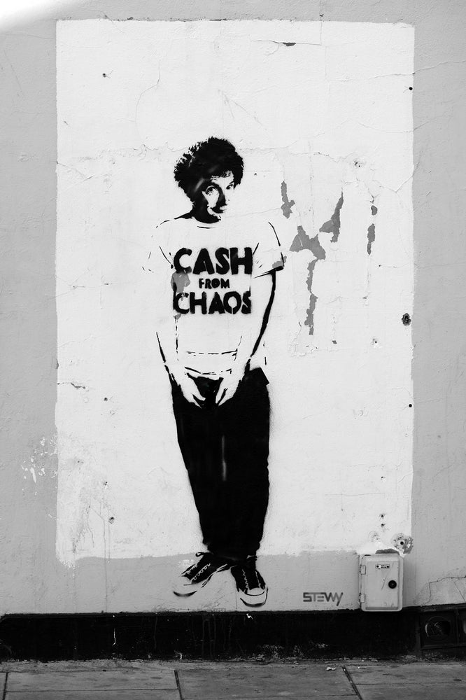 Image of Malcolm McLaren - Screen print