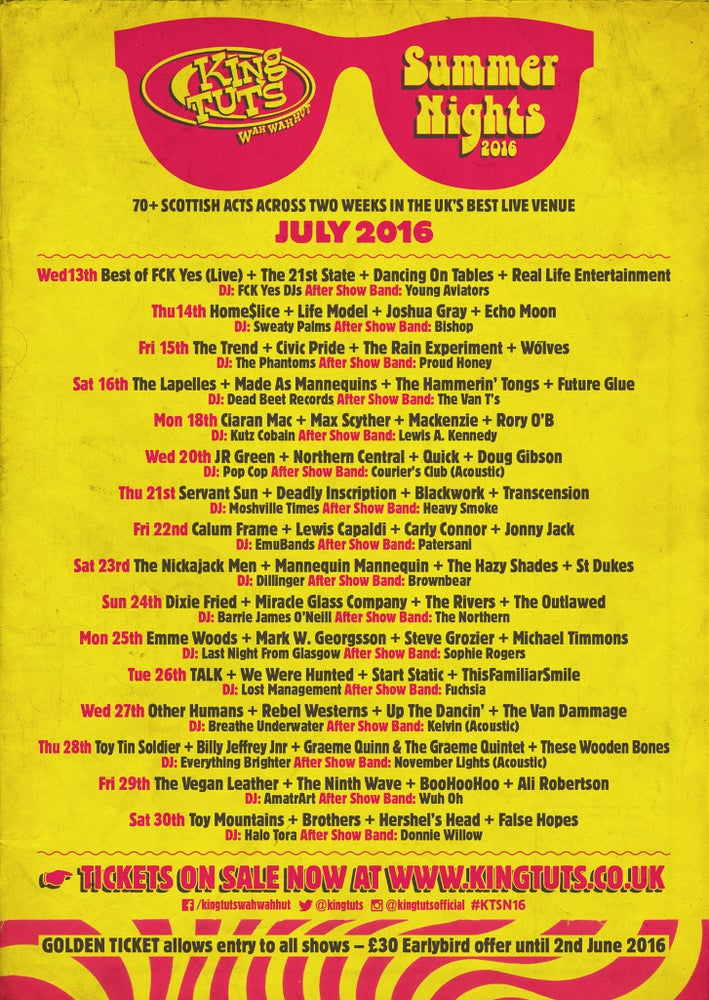 Image of King Tuts Summer Nights Festival