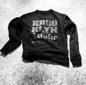 Image of BRKLN BLOKE Script Sweater