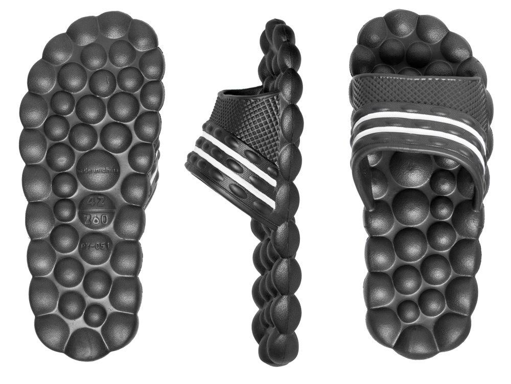 Image of HG Deluxe Comfort Solarsoft Massage Slippers Slides