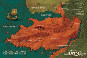 "Image of Land of the Rats ""Vastness"" poster"