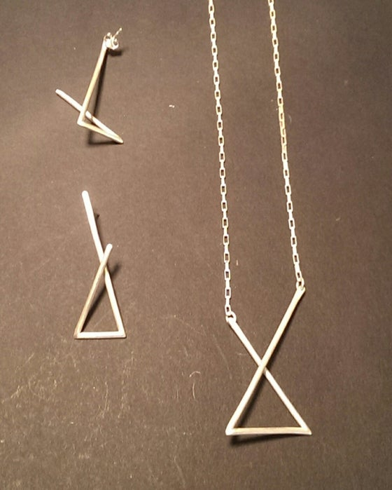 Image of Triangular Spaces: Necklace