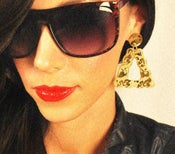 "Image of Yardley December x Fresh Fiends ""Around the Way"" Earrings SOLD-OUT"