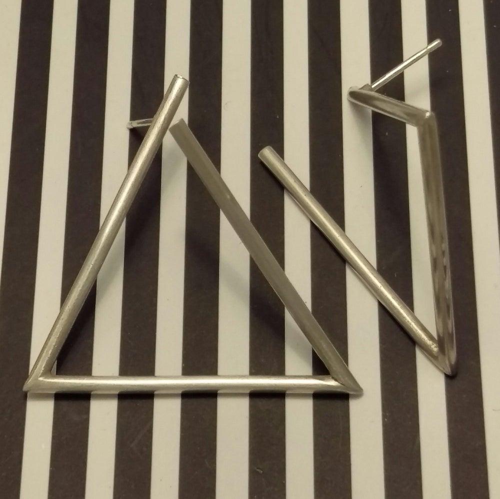 Image of Triangular Spaces: Earrings