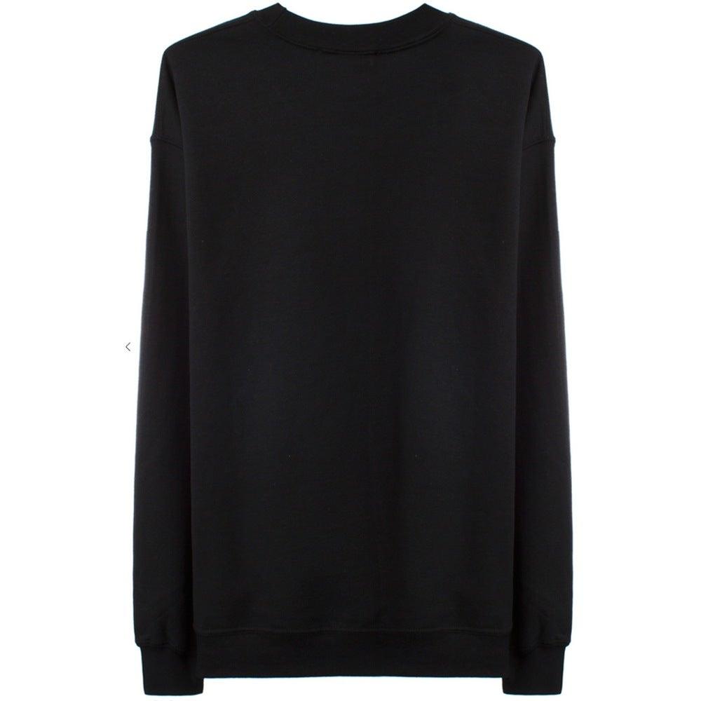 Image of GLITCH LOGO Sweatshirt - Black