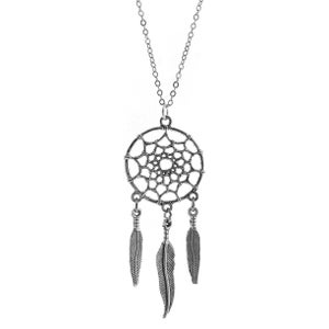 Image of Dreamcatcher Charm Necklace - Colour Options Available