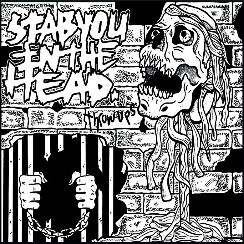 Image of Stab You In The Head - Throw Ups (Cassette Pre-Order)