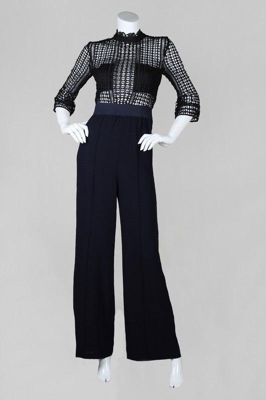 Image of Crochet Jumpsuit Lush