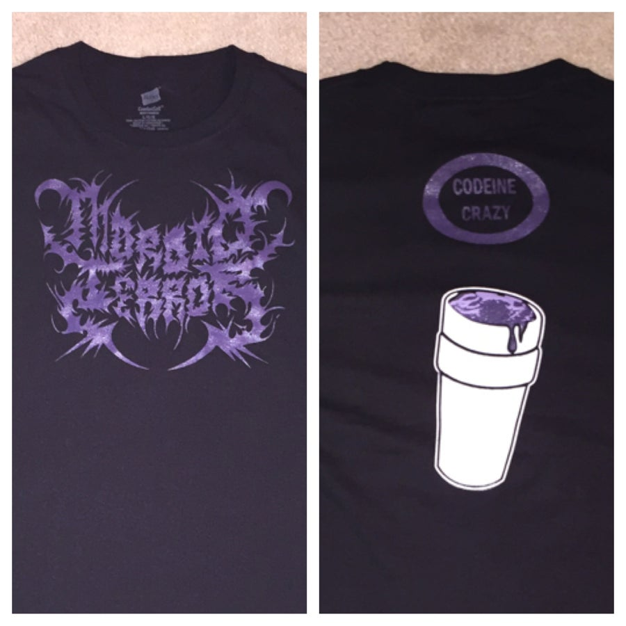 Image of Morbid Terror Codeine Crazy Shirt