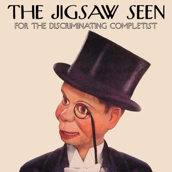 """Image of """"The Jigsaw Seen For The Discriminating Completist"""" compact disc"""