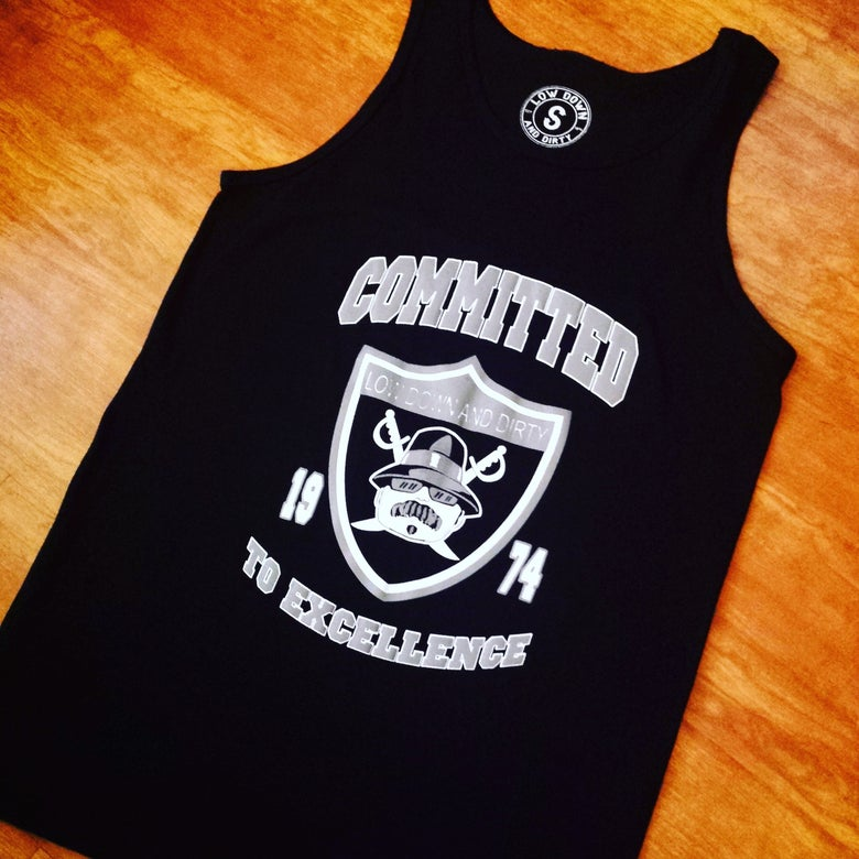 Image of Committed to Excellence Tank