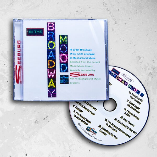 Image of Seeburg Music Library In The Broadway Mood CD