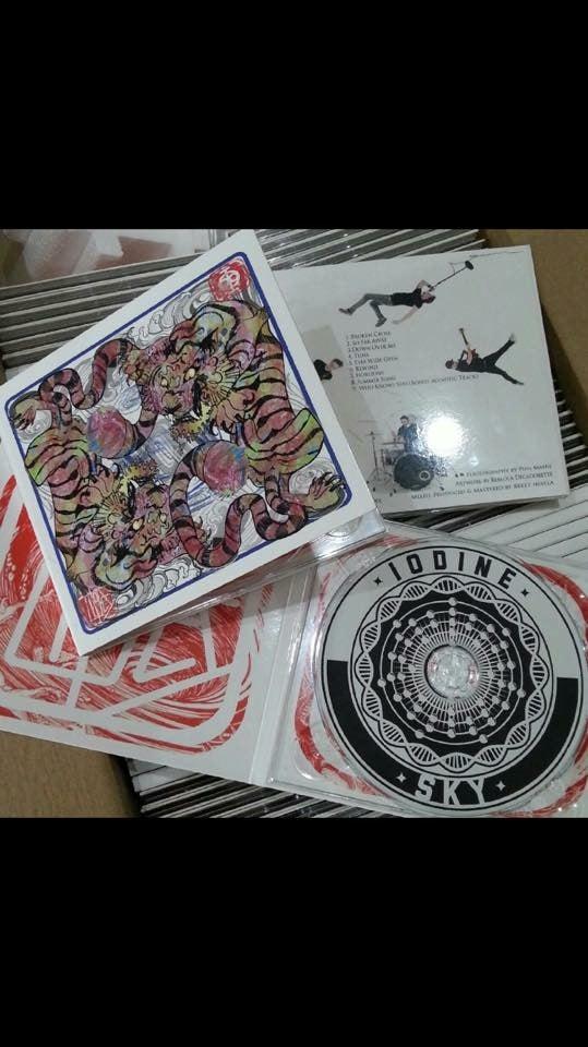 "Image of Iodine Sky ""Tides"" Album"