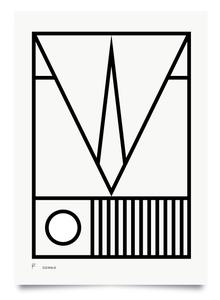 Image of Squawk print