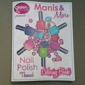 Image of Glisten & Glow - Manis & More Nail Polish Themed Coloring Book