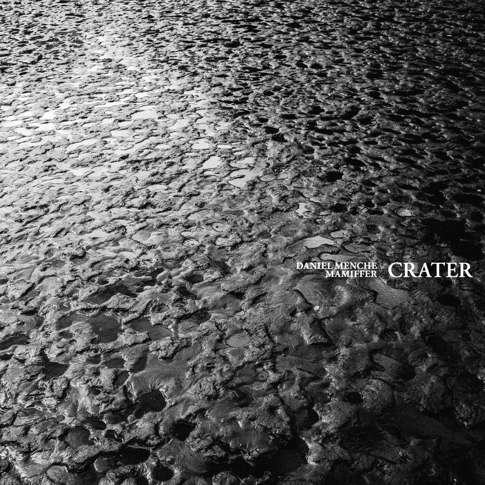 """Image of Daniel Menche & Mamiffer """"CRATER"""" cassette"""
