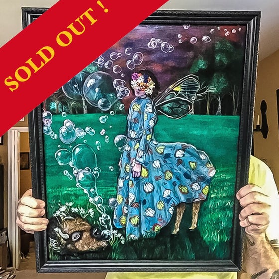 "Image of ""Jilted"" Original 16""x20""  Framed Painting"