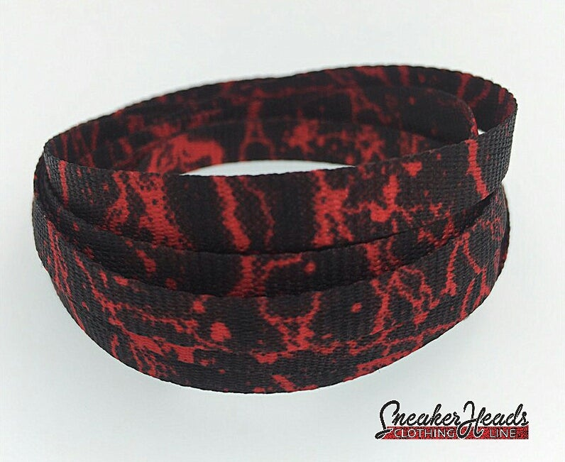 "Image of Exclusive ""Red Storm"" LE Custom Laces"