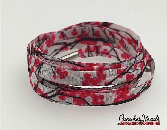 "Image of Exclusive ""Cherries"" LE Custom Laces"