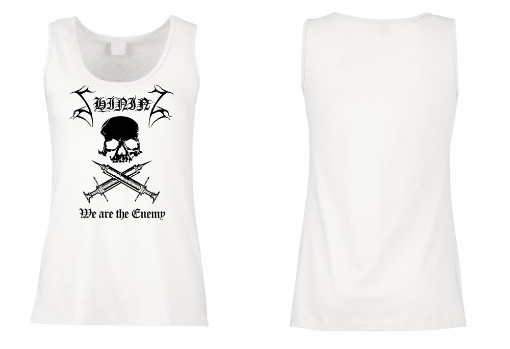"Image of Shining ""We Are The Enemy"" Girl TANK TOP"