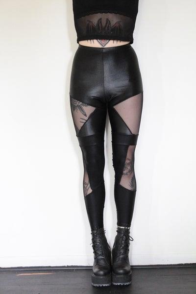 Image of Fierce Mesh Leggings
