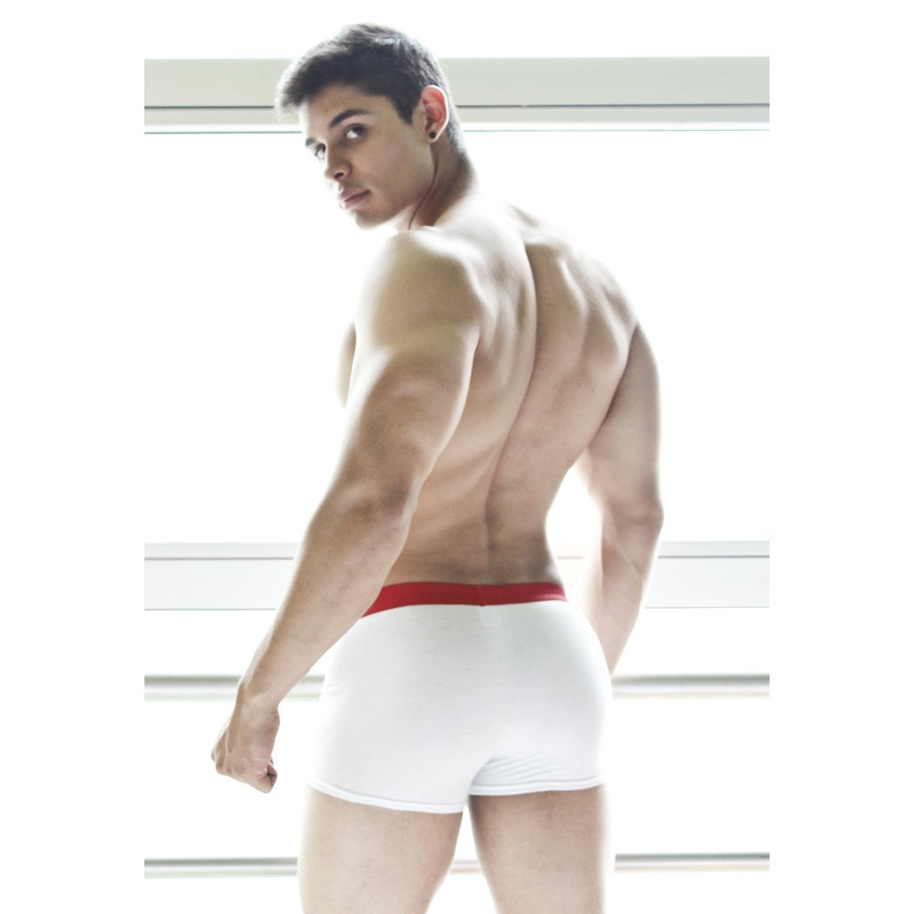 Image of BOXER FIT BLANCO DEPORTIVO