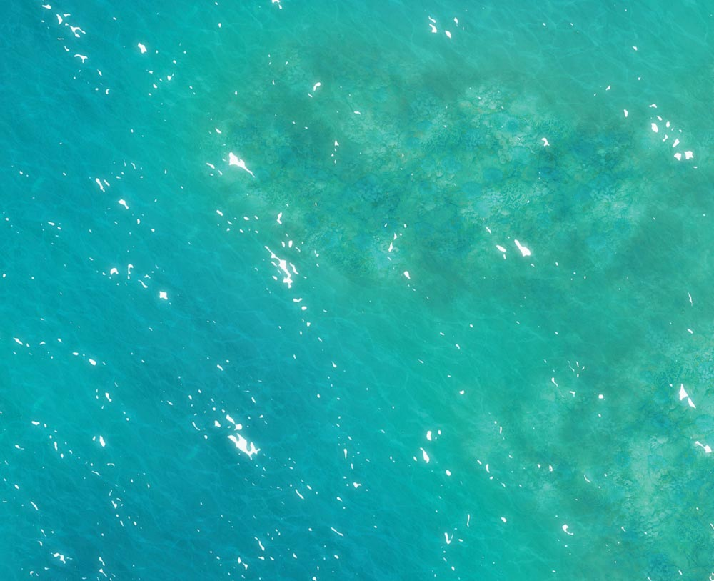 Image of Caribbean Waters - 4'x6' PLUS - #350