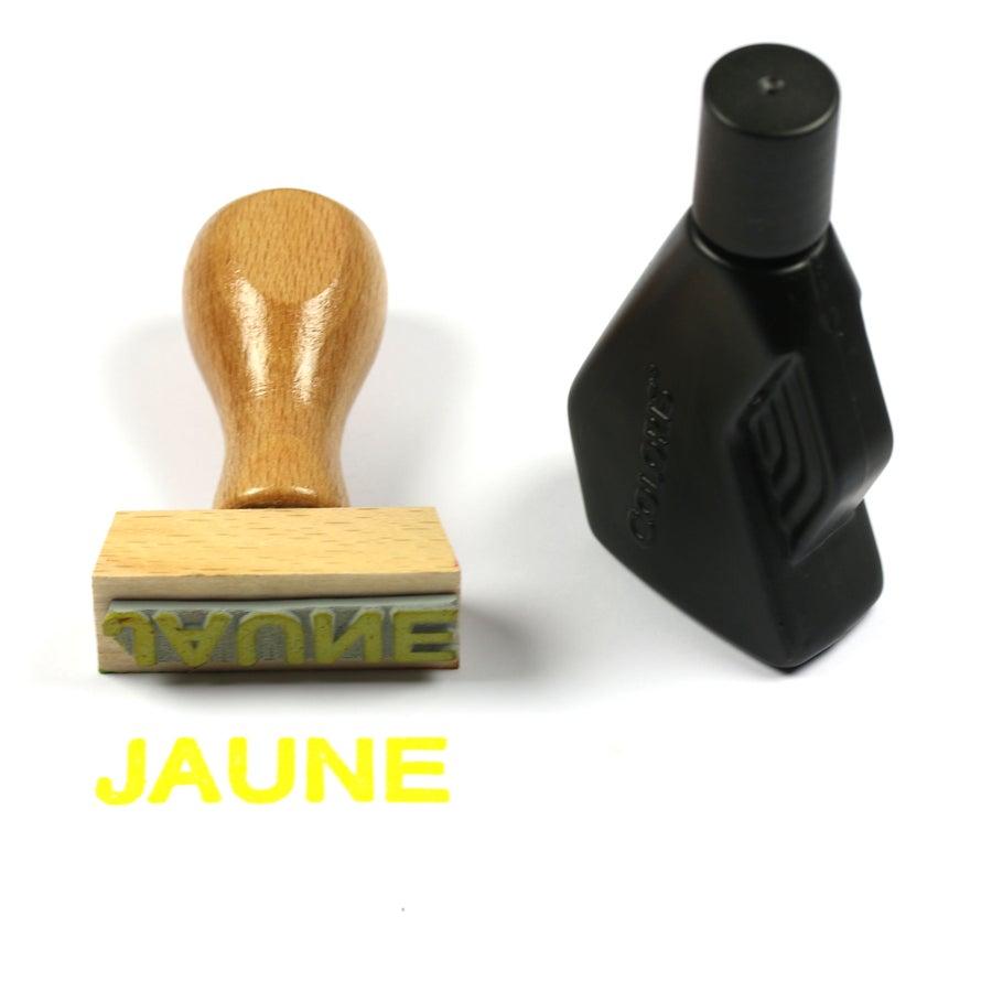 Image of Encre jaune
