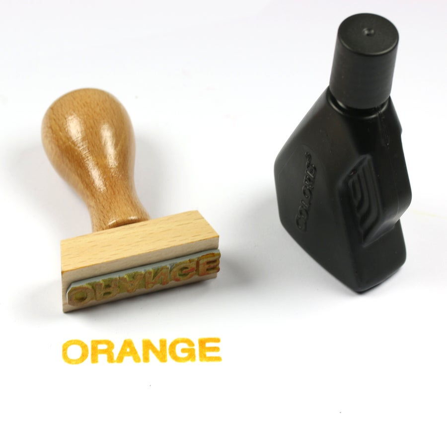 Image of Encre orange