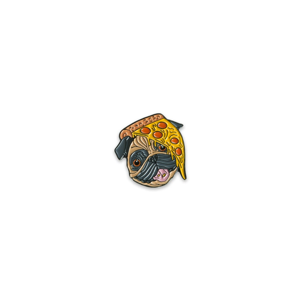 Image of Pug x Pizza Pin