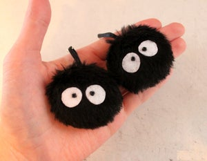 Image of Soot Sprite Earrings