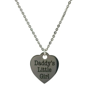 Image of Daddy's Little Girl Necklace