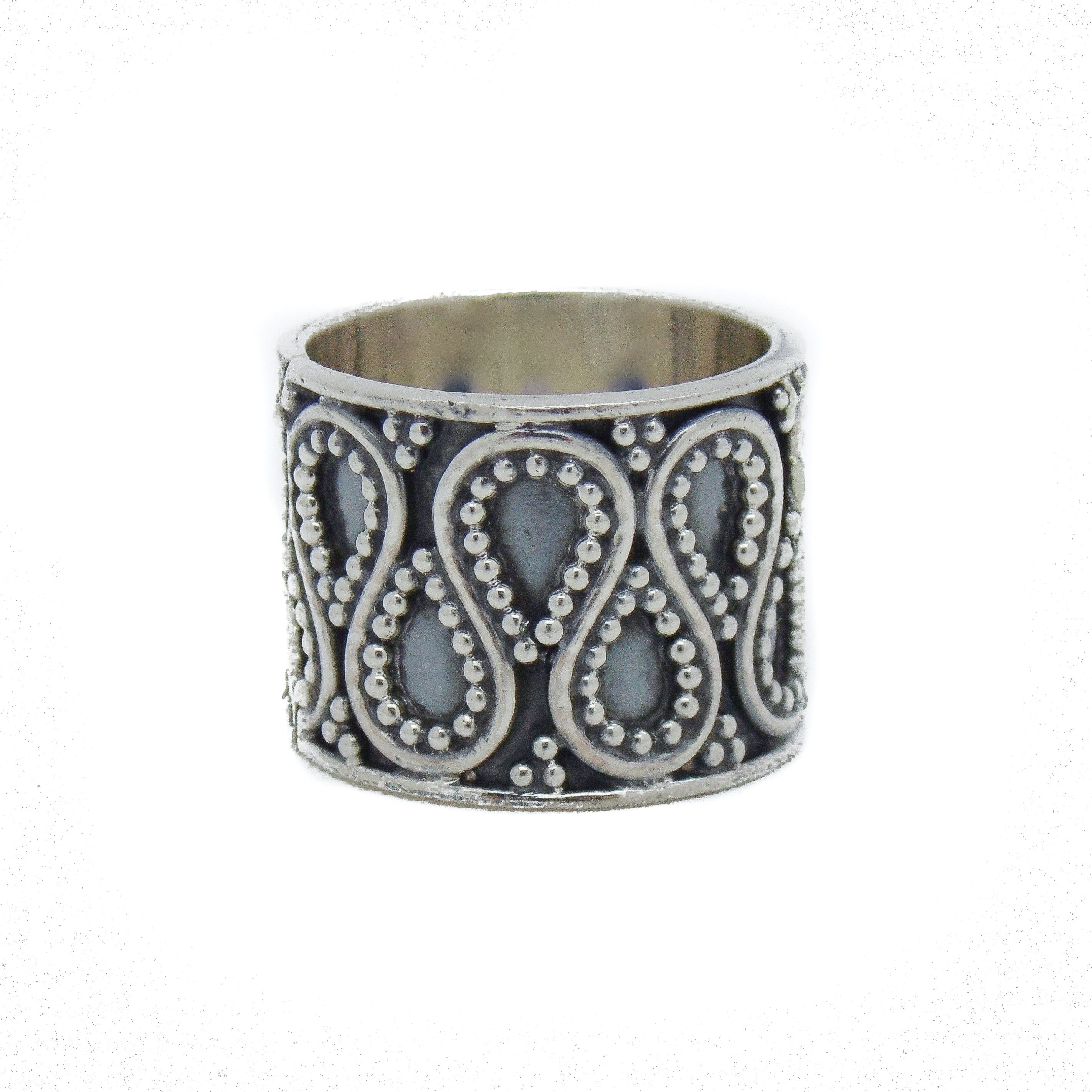empty casket jewellery sterling silver chunky beaded