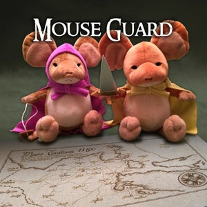 Image of Mouse Guard: Plush Lieam & Sadie set!