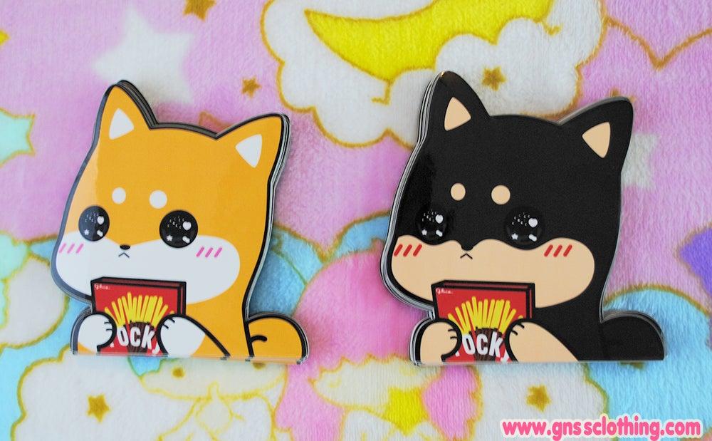 Image of Shibao Love Pocky Vinyl Sticker [limited]