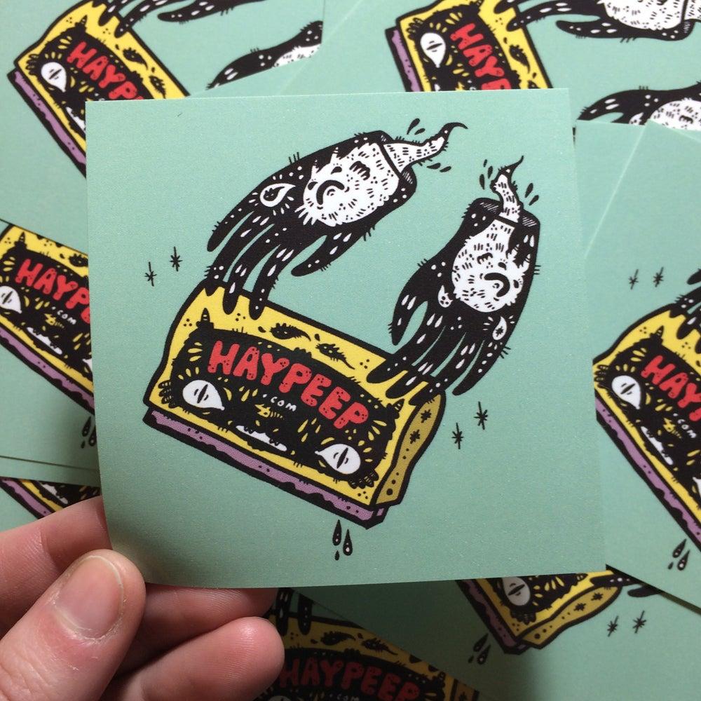 Image of Haypeep Squeegee Hands Sticker