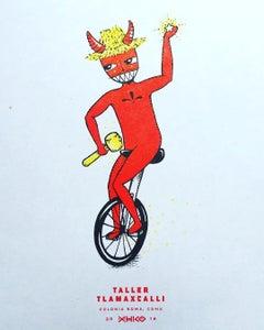 "Image of ""Diablo"" Risograph Print"
