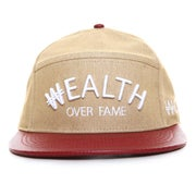 Image of Wealth Arc 5 Panel Hybrid - Wheat/Burgundy