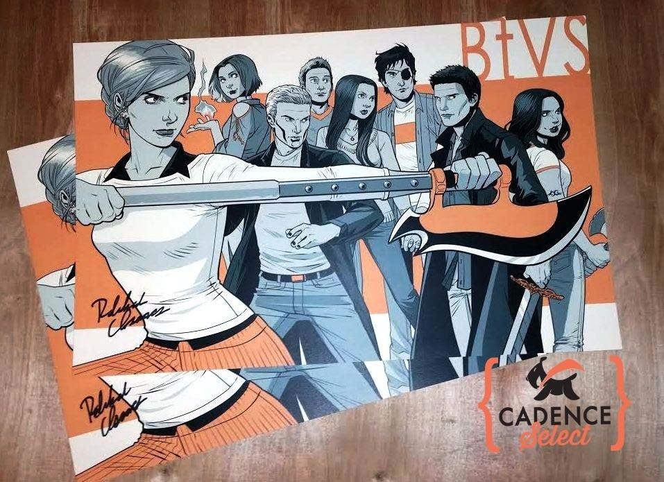 "Image of Rebekah Isaacs / ""Buffy the Vampire Slayer"" Signed Print"