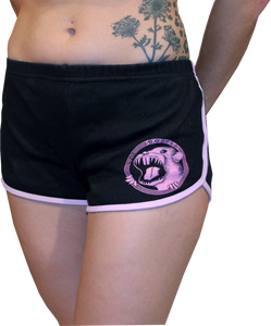Image of SK8RATS Girl Running Shorts (Pink)