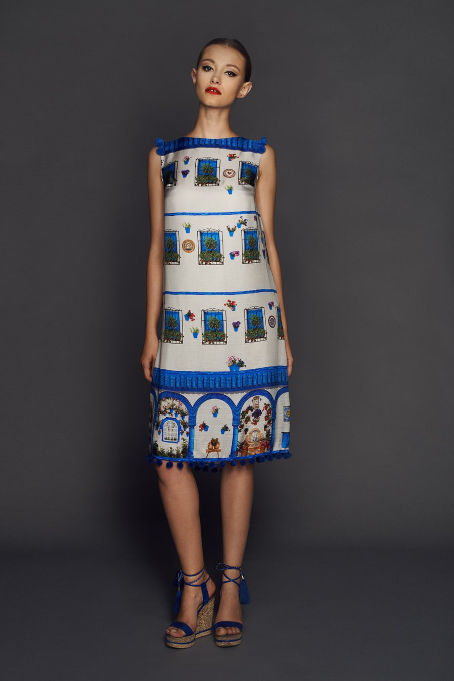 Image of Windows dress from Andalusia collection