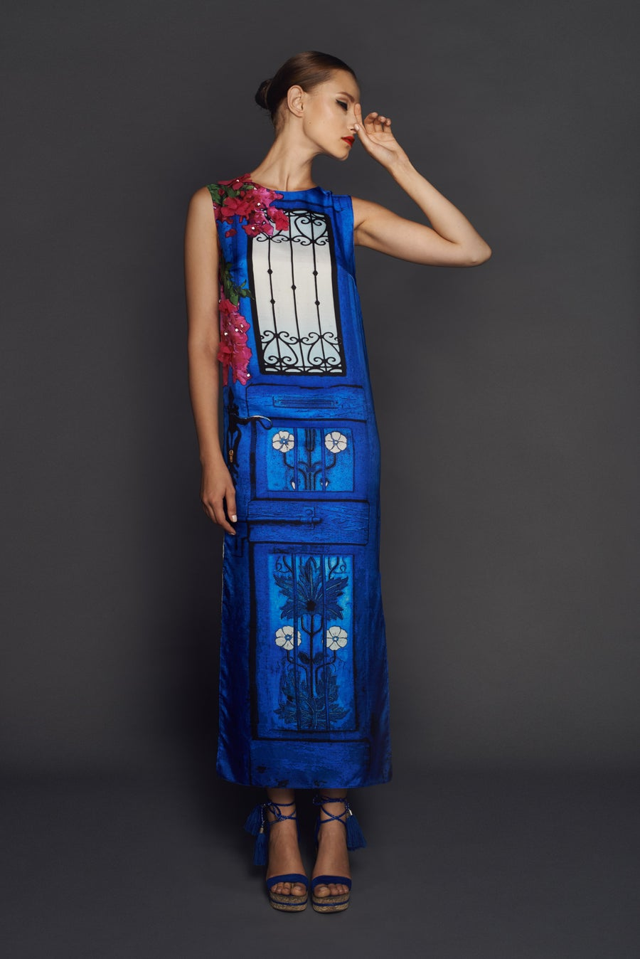 Image of Door dress from Andalusia collection