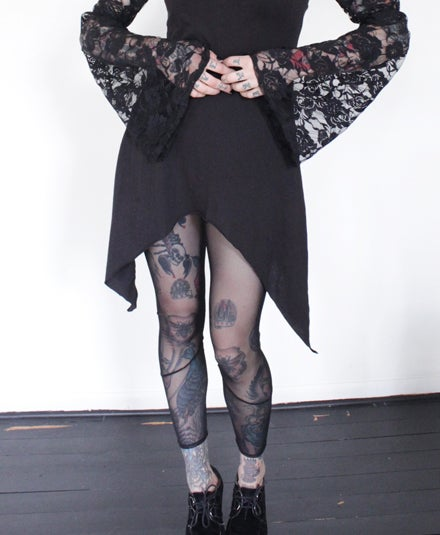 Image of All Mesh leggings