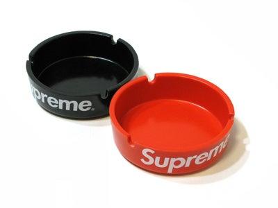 Image of Supreme Red Ashtray Plastic